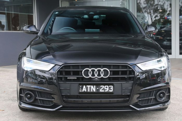 2017 Audi A6 Black Edition C7 MY18 Four Wheel Drive Black