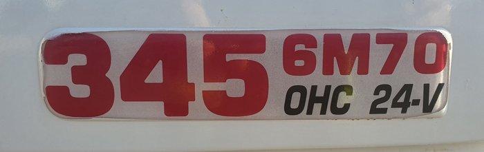 2010 Fuso FV51 345 6M70 WHITE