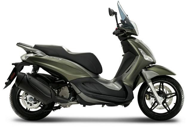 2020 PIAGGIO BEVERLY 350 (BV 350) GREEN