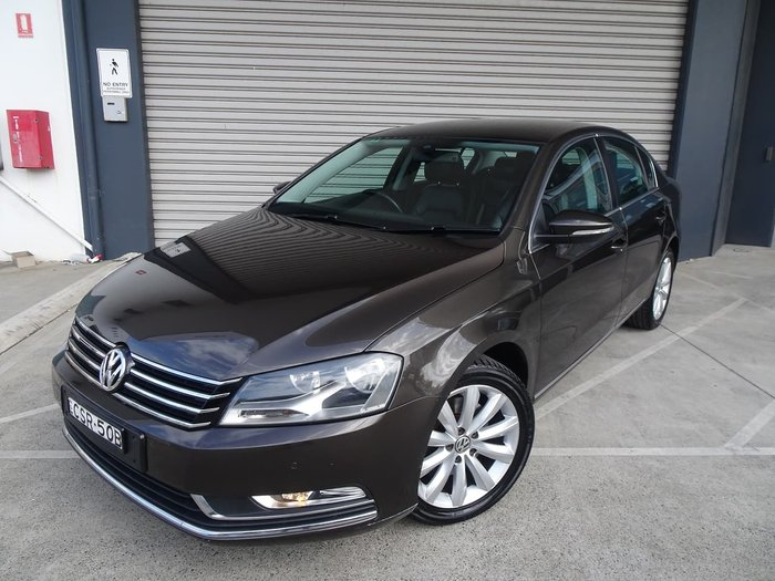 2012 Volkswagen Passat 118TSI Type 3C MY12.5 Brown