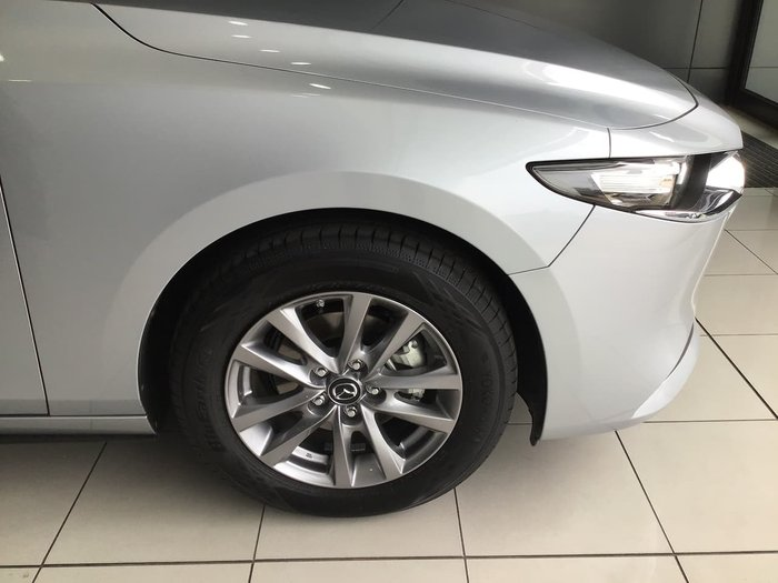 2019 Mazda 3 G20 Pure BP Series Silver