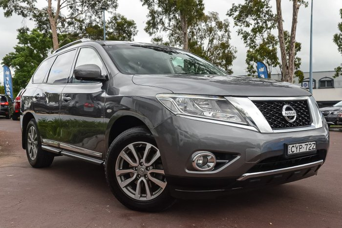 2015 Nissan Pathfinder ST-L R52 MY15 Grey
