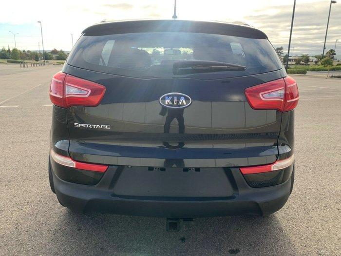 2012 Kia Sportage SLi SL MY12 4X4 On Demand BLACK