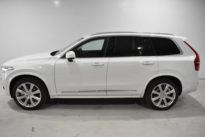 2019 Volvo XC90 D5 Inscription MY20 4X4 On Demand White
