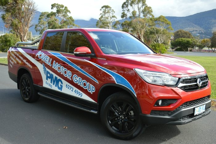 2019 SsangYong Musso Ultimate Q200 4X4 Dual Range RED