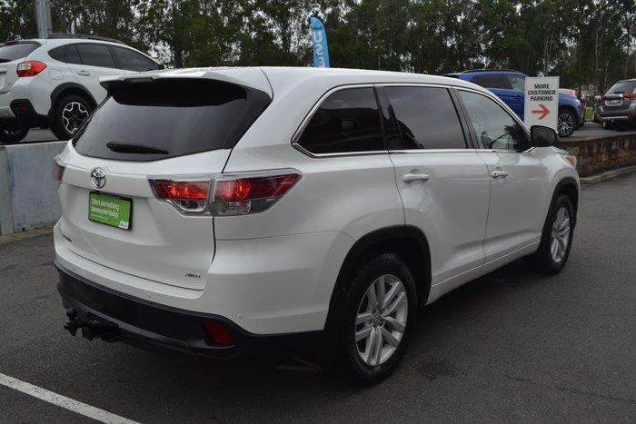 2015 Toyota Kluger GX GSU55R Four Wheel Drive White