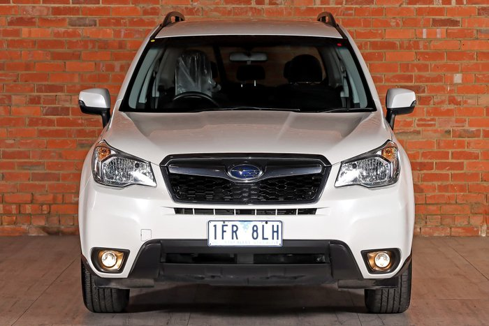 2015 Subaru Forester 2.0D-L S4 MY15 Four Wheel Drive White