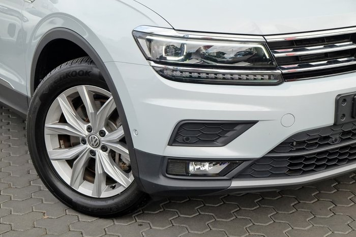 2018 Volkswagen Tiguan 132TSI Comfortline 5N MY19 Four Wheel Drive Silver