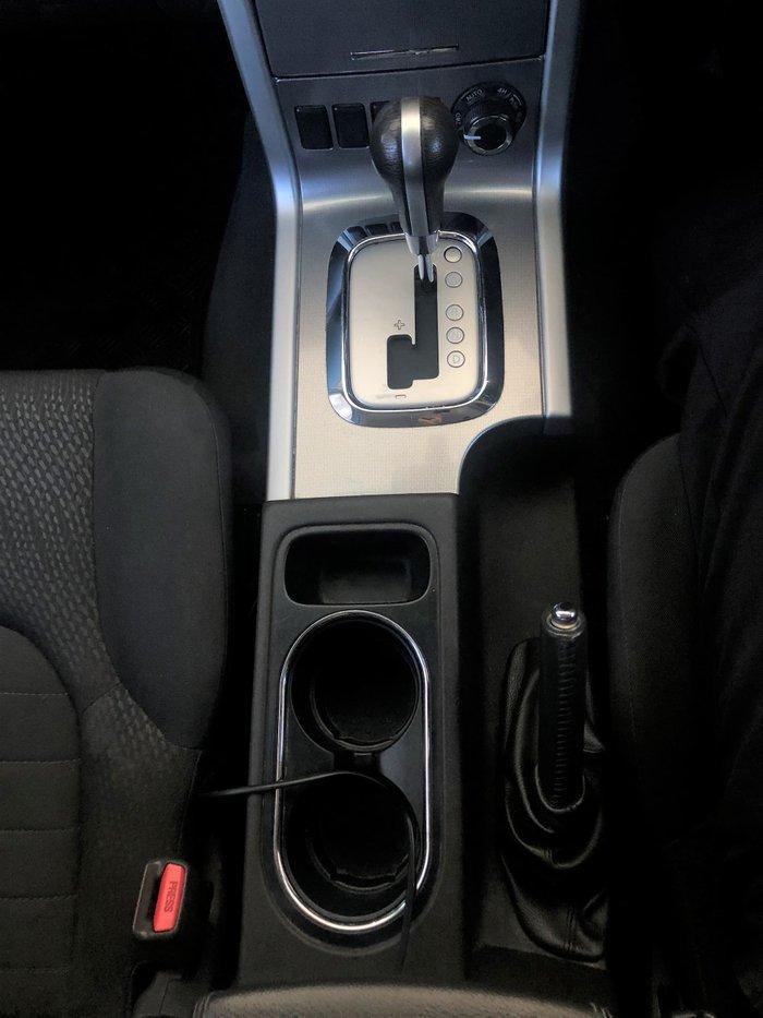 2012 Nissan Pathfinder ST R51 MY10 4X4 Dual Range White