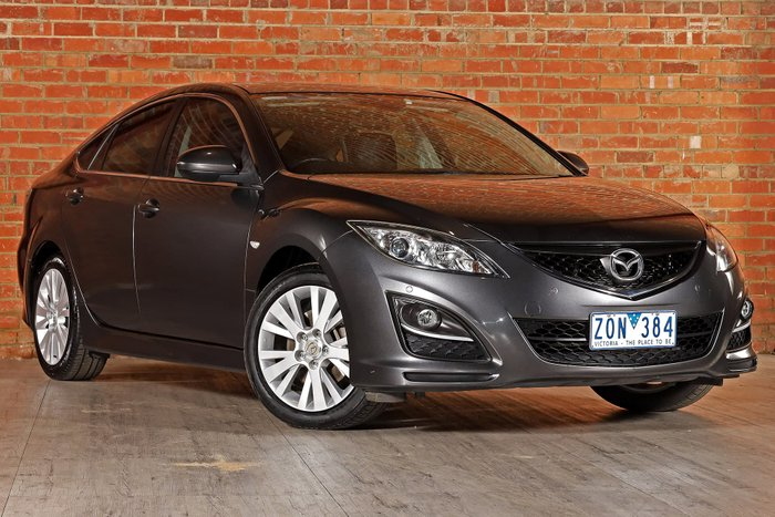 2012 Mazda 6 Touring GH Series 2 MY12 Grey