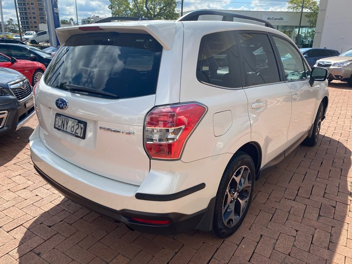 2013 Subaru Forester 2.5i-S S4 MY13 Four Wheel Drive White
