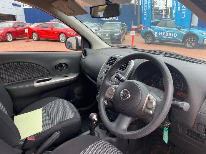 2016 Nissan Micra ST K13 MY15 Silver