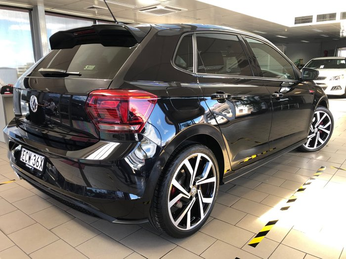 2019 Volkswagen Polo GTI AW MY19 Black
