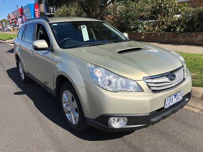 2012 Subaru Outback 2.0D 4GEN MY12 Four Wheel Drive Gold