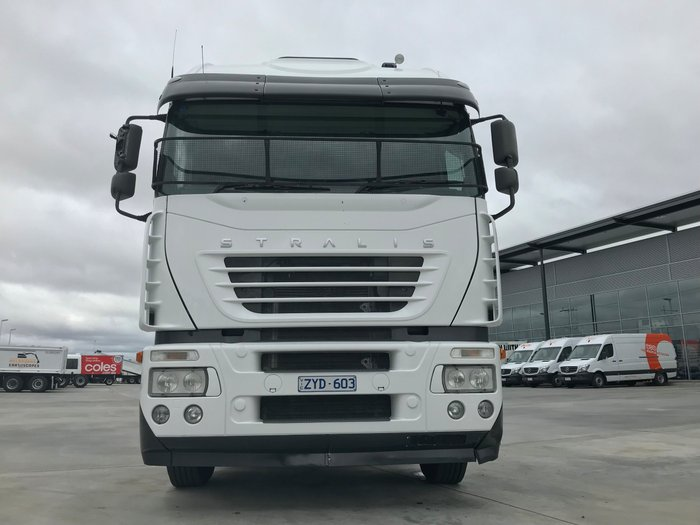 2010 Iveco Stralis AT/AS/AD AS 550 WHITE