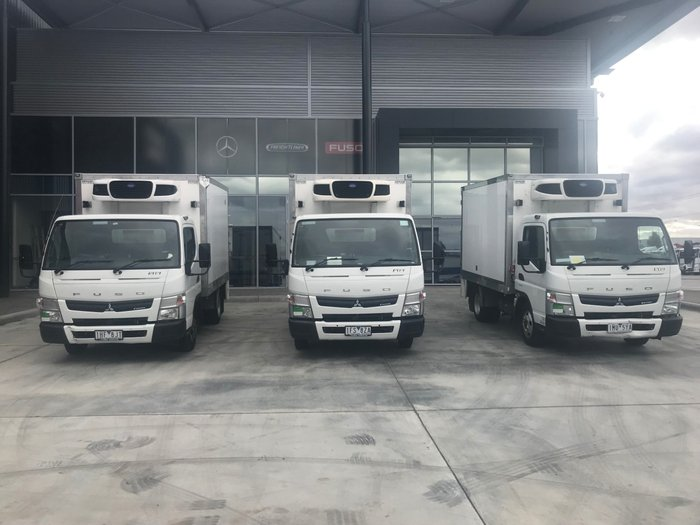 2015 Fuso Canter 515 A/T - PANTECH REFRIGERATED WHITE