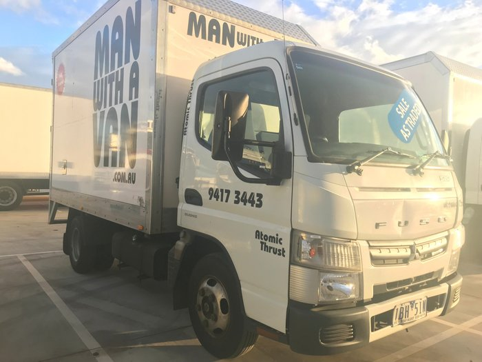 2013 Fuso Canter 515 A/T - PANTECH + SIDE DOOR WHITE