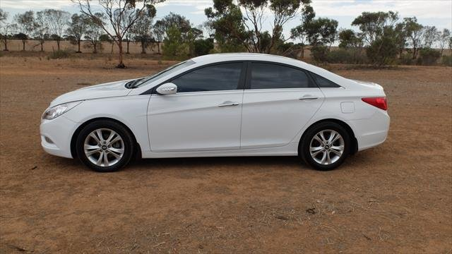 2011 Hyundai i45 Active YF MY11 Noble White