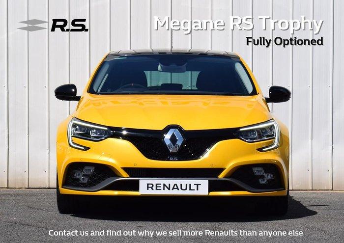 2019 Renault Megane R.S. Trophy BFB Yellow