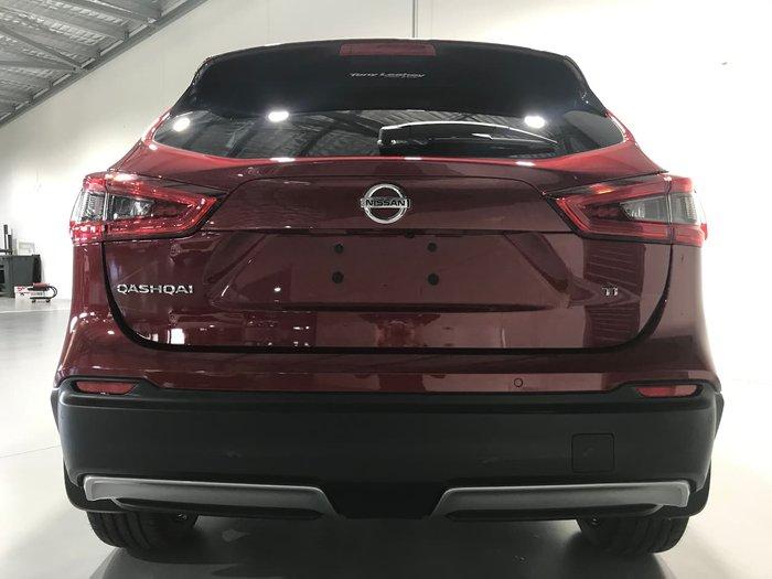 2019 Nissan QASHQAI Ti J11 Series 3 MY20 Red
