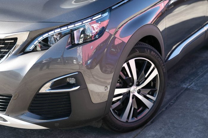 2018 Peugeot 3008 GT Line P84 MY18 Grey