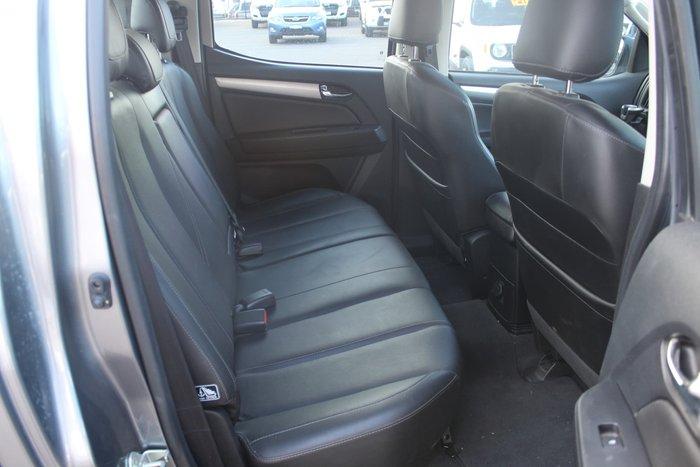 2017 Holden Colorado Z71 RG MY18 4X4 Dual Range Grey