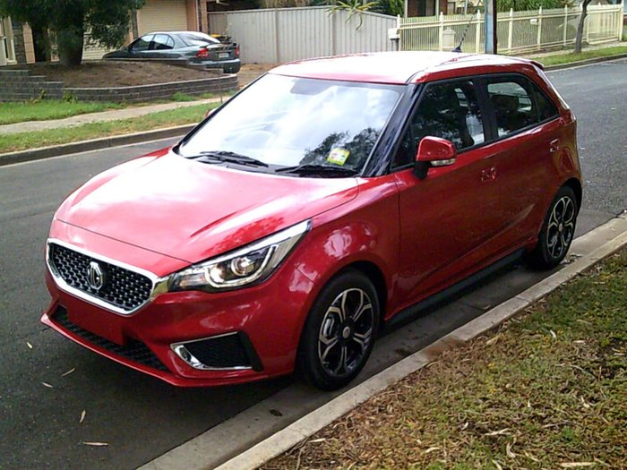 2019 MG MG3 Excite MY18 Bristol Red