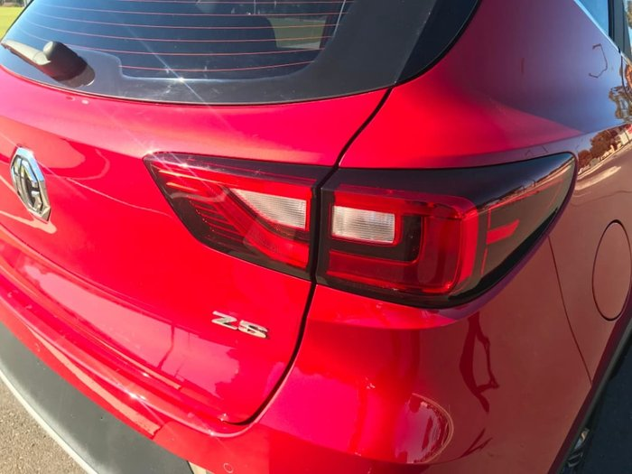 2019 MG ZS Excite AZS1 MY19 Diamond Red