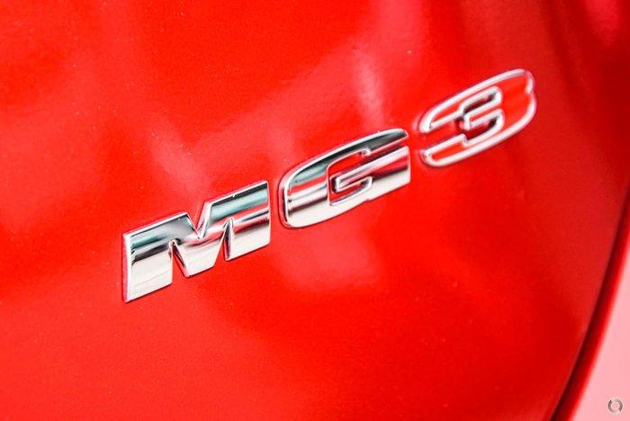 2019 MG MG3 Core MY18 Bristol Red