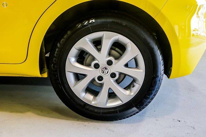 2019 MG MG3 Core MY18 Tudor Yellow