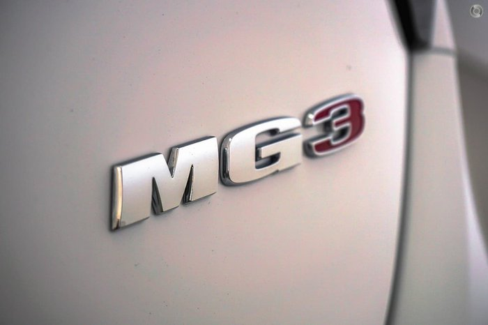 2019 MG MG3 Excite MY18 Dover White