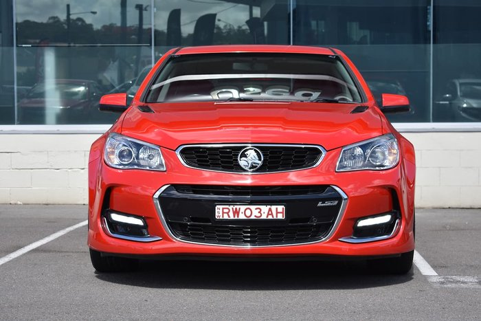 2015 Holden Commodore SS VF MY15 Red