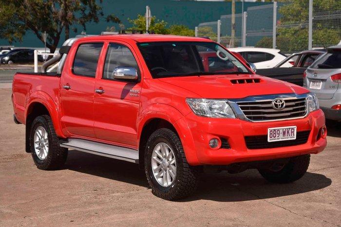2013 Toyota Hilux SR5 KUN26R MY12 4X4 Red