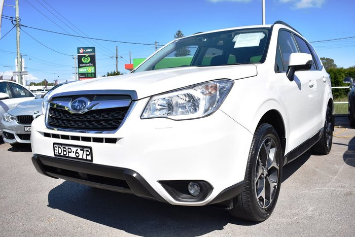 2015 Subaru Forester 2.5i-L S4 MY15 Four Wheel Drive White