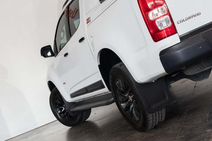 2017 Holden Colorado Z71 RG MY17 4X4 Dual Range White