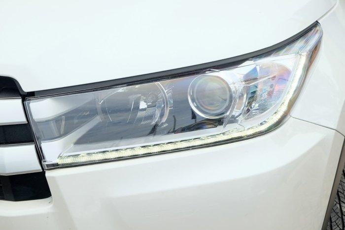 2017 Toyota Kluger GXL GSU50R White
