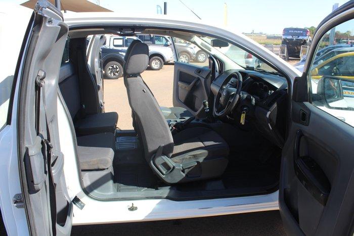2014 Ford Ranger XL PX 4X4 Dual Range White