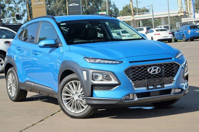 2020 Hyundai Kona Elite OS.3 MY20 4X4 On Demand Blue