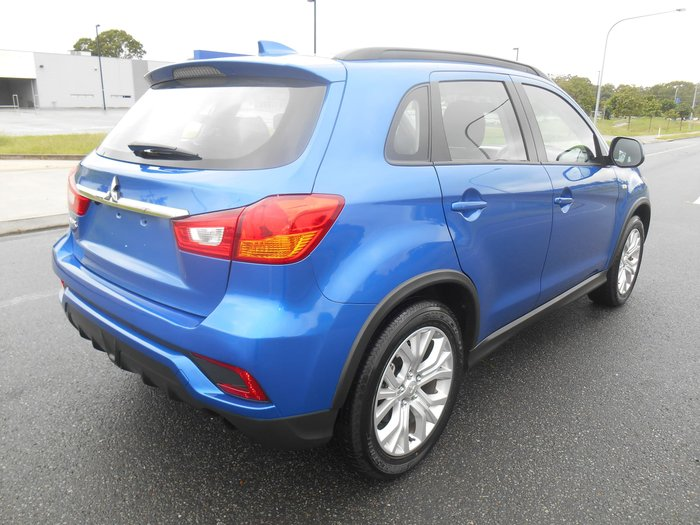 2018 Mitsubishi ASX ES XC MY19 Blue