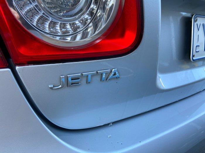 2010 Volkswagen Jetta 118TSI 1KM MY10 Silver