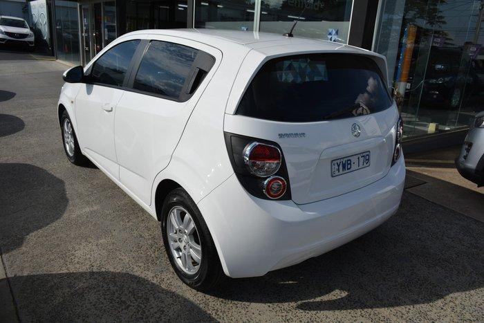 2012 Holden Barina TM White