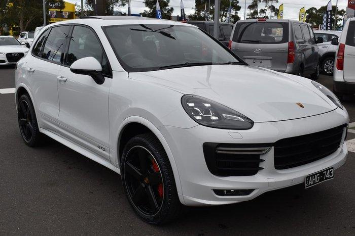2016 Porsche Cayenne GTS 92A MY16 4X4 On Demand White