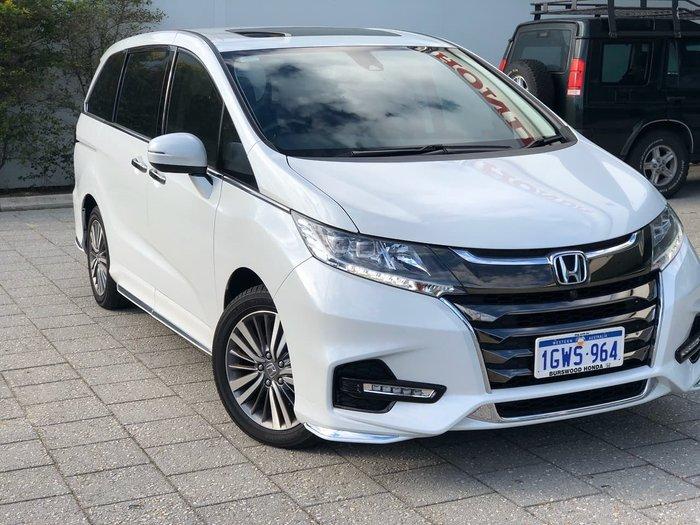 2019 Honda Odyssey VTi-L 5th Gen MY19 White