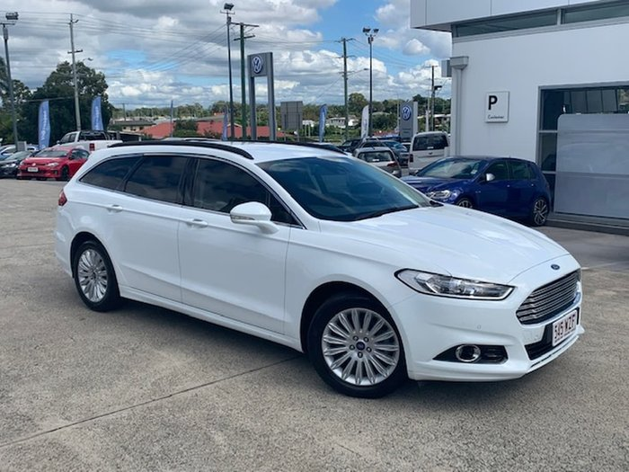 2016 Ford Mondeo Trend MD White