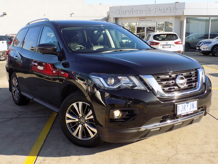 2017 Nissan Pathfinder ST-L R52 Series II MY17 Black