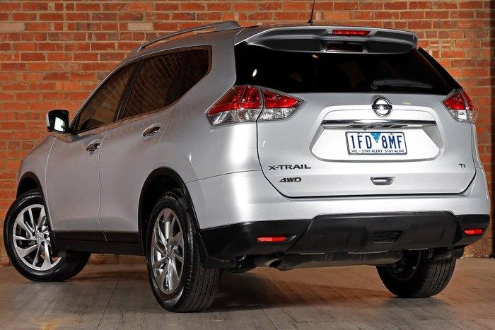 2015 Nissan X-TRAIL Ti T32 4X4 On Demand Silver