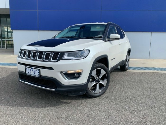 2017 Jeep Compass Limited M6 MY18 4X4 On Demand BRIGHT WHITE