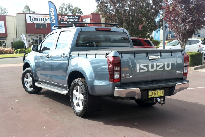 2015 Isuzu D-MAX LS-U High Ride MY15 Grey