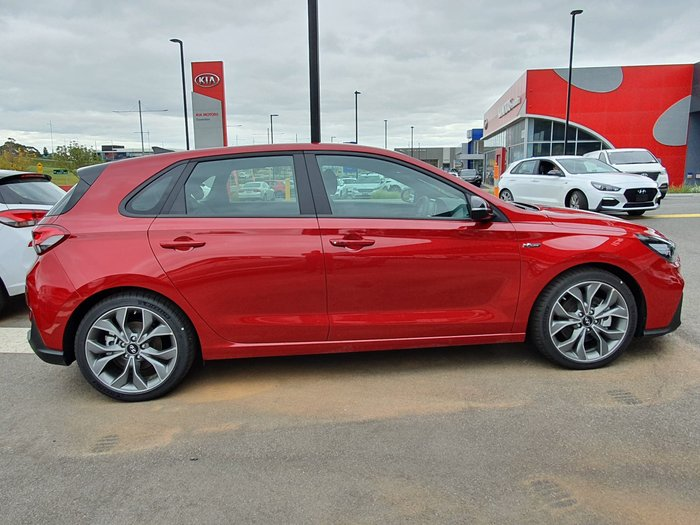 2019 Hyundai i30 N Line Premium PD.3 MY20 Red
