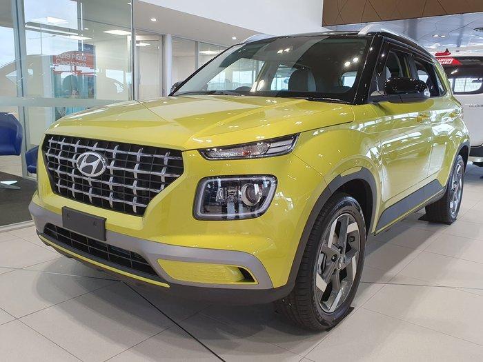 2019 Hyundai Venue Elite QX MY20 Yellow